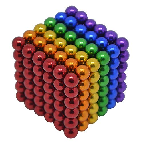 - HAJUGADOR 5MM 216 Pieces Magnetic Ball Set Sculpture Building Blocks Toys Perfect for Crafts, Intelligence Learning Magnets Cube Provides Relief for Anxiety, Autism, ADHD (6 Color, 5MM)