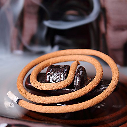 Zen Garden Fisherman Big Ceramic Incense Burner Backflow Incense Burner Holder Set Incense Cones Incense Stick Holder for Home Office Decor 7.5''X4.5''X4.7'' by MAYMII·HOME (Image #5)
