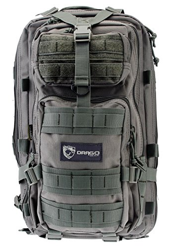 Drago Gear Tracker Backpack, Seal Gray by Drago Gear