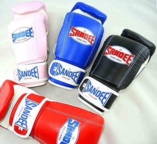 Sandee Full Leather Bag Glove Red Medium