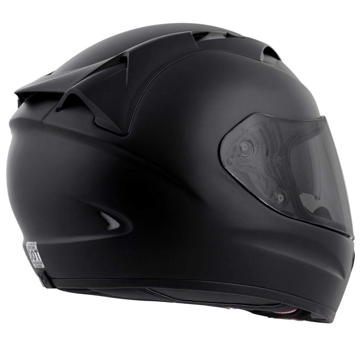 ff37cb31 Amazon.com: Scorpion EXO-T1200 Solid Street Motorcycle Helmet (Matte Black,  Medium): Automotive