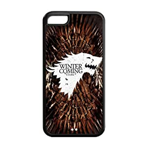 Hard Rubber Special Design iPhone 5c Cover Game of Thrones Case for iPhone 5c