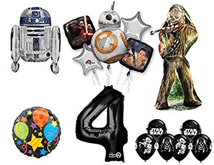 Amazon.com: The Ultimate Star Wars 4th Fiesta de cumpleaños ...