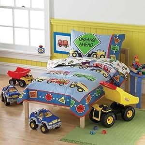 Amazon Com Tonka Truck Toddler Bedding Set Baby