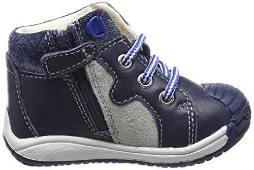 Geox B Toledo Boy B, Botines de Senderismo para Bebés Azul (Navy c4002)