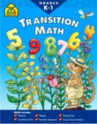 Workbook Transition Math 36 pcs SKU# 905183MA