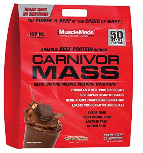 Muscle Meds supplément de perte de poids Carnivor messe, Chocolate Fudge, 10 Pound