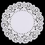 Bloomeet 300 PCS Round Paper Doilies Lace Doily