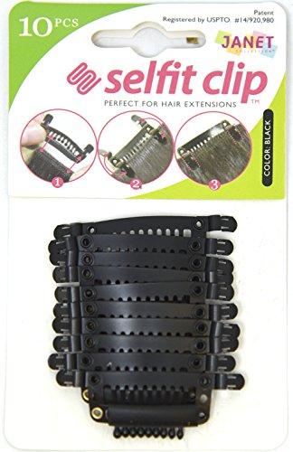 Janet Collection Selfit Clip 10PCS ()