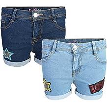dELiA*s Girl's Denim Twill Shorts (2 Pack)
