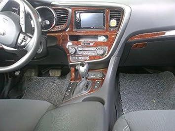 Amazon.com: KIA OPTIMA INTERIOR BURL WOOD DASH TRIM KIT SET 2011 2012 2013:  Automotive