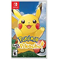 Deals on Nintendo Switch Pokemon Let's Go, Pikachu