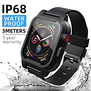 Amazon.com: Apple Watch Waterproof Case: Cell Phones ...