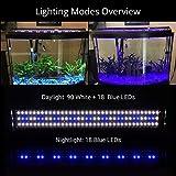 NICREW ClassicLED Aquarium Light, Fish Tank Light