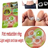 4 PCS Magnetic Slimming Health Silicon Foot Massager for Relaxing Toe Ring Toe Ring
