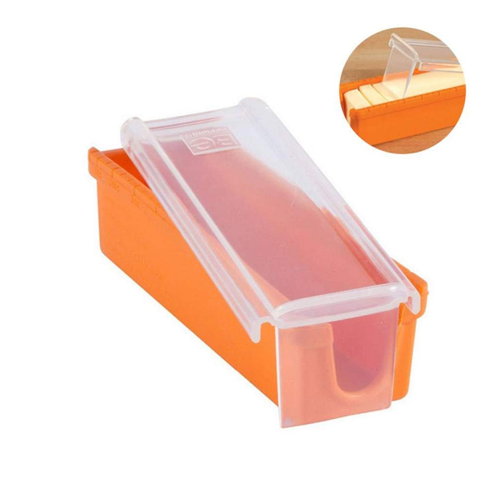 Butter Storage Slicer Cutter Storage Container Measure for Bread Cakes Pulison Butter Dish with Lid Butter Keeper Butter Container with Cover for Countertop or Refrigerator