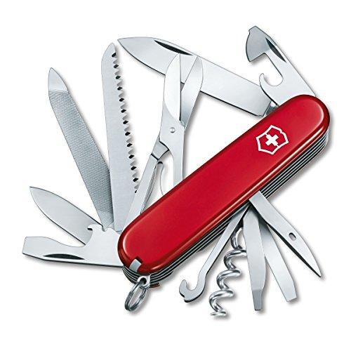 Victorinox Swiss Army Ranger Pocket Knife,Red