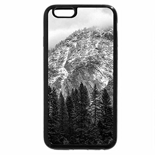 iPhone 6S Case, iPhone 6 Case (Black & White) - Yosemite Valley, California