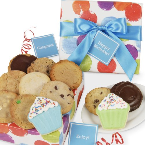 Cookie Bouquet Gift Basket - Celebrate! Cookie Gift Box