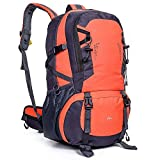 ZOUQILAI Outdoor Ultra Light Large Capacity Backpack 40L Outdoor Adventure Travel Waterproof Mountaineering Bag Backpack Hiking Bag