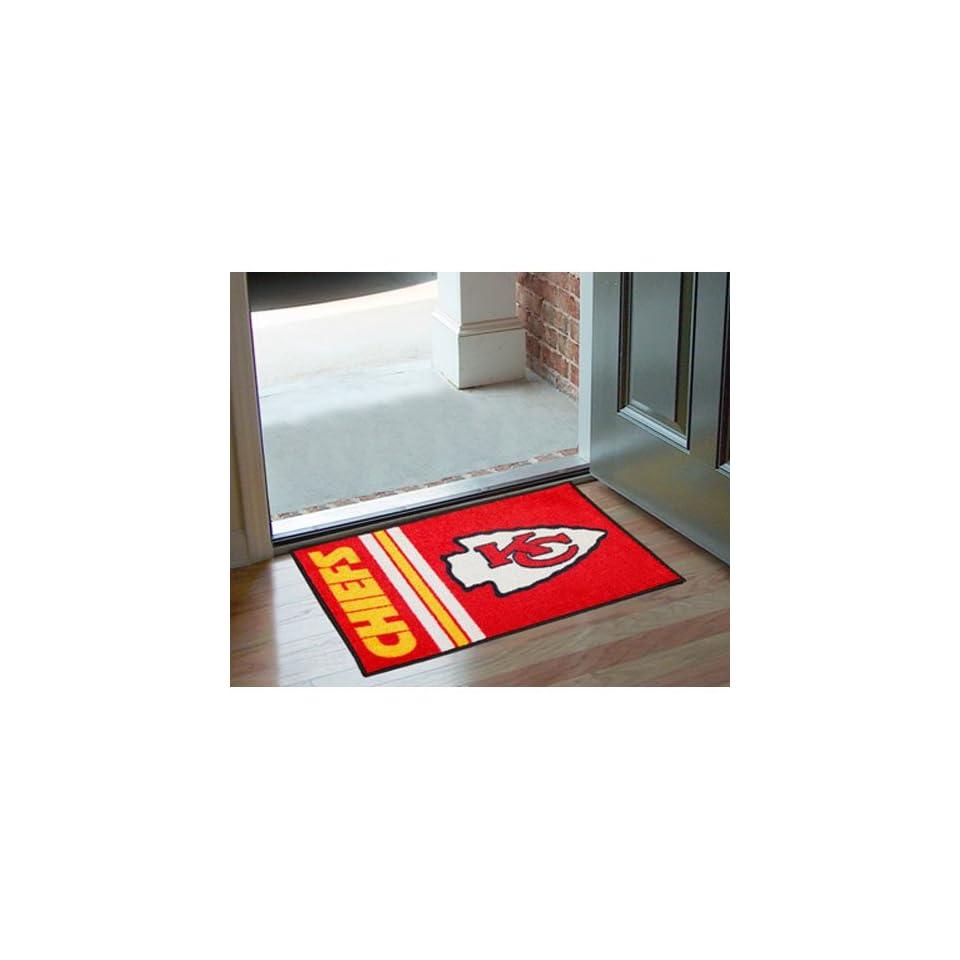 BSS   Kansas City Chiefs NFL Starter Uniform Inspired Floor Mat (20x30)