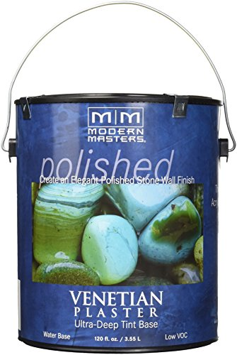 Venetian Plaster Tools (Modern Masters VP200-GAL Venetian Plaster Ultra Deep Tint Base, 1-Gallon)