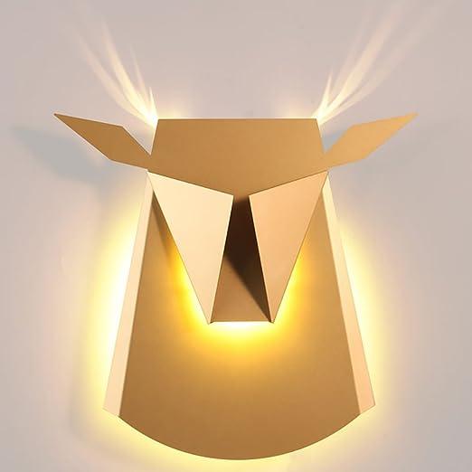 LXSEHN Nordic Creative Designer Wrought Iron Wall Lamp, Postmodern ...