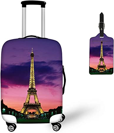 Bigcardesigns Dust-Proof Luggage Cover