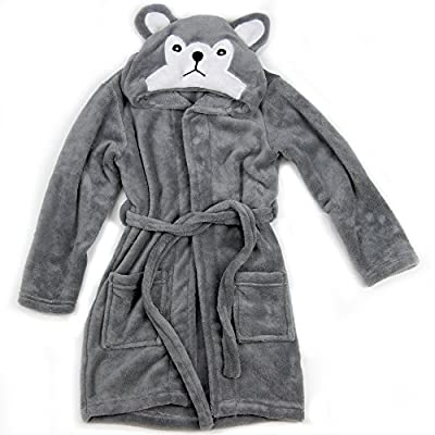 Hooded Fleece Robes for Toddlers Keeps Kids Cozy! Toddler Robe Calms Children! Cute and Warm Kids' Robe for Boys and Girls