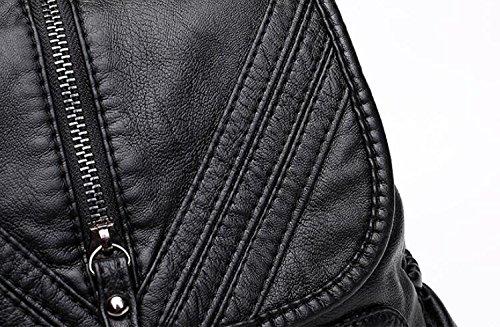 main souple sac à à YiNan SchoolBag Style3 dos à sac sac cuir randonnée Sac à occasionnel dos voyage main en OUxUCq4w