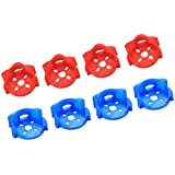 iFlight 8pcs TPU Motor Guard Protection Seat Compatible with 2204 2205 2206 and 2306 Series Brushless Motors for FPV Racing Frame Arm Protector