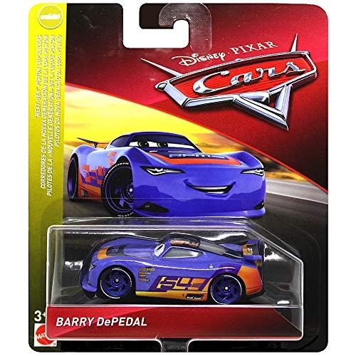 Disney Cars Barry DePedal Next-Gen Piston Cup Racers Diecast Car 1:55 Scale