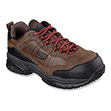 Skechers for Work 77059 Soft Stride Constructor II Athletic Hiker Boot