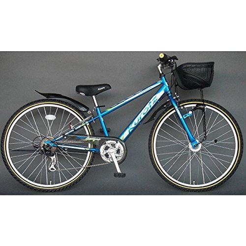 クロッツ Kurotz 子供用自転車 フラッシュバックSTD FBR266STD スパークブルー B00ADFRUD2