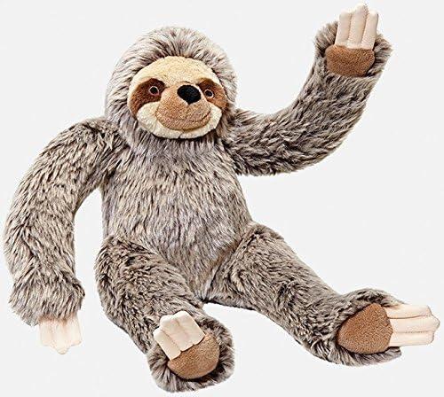 B07F1Z75Q7 Fluff and Tuff Tico Sloth Plush Dog Toy, Large, 15-Inches 513VqruCodL