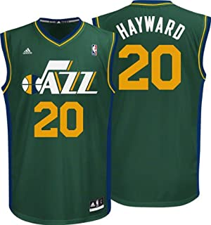 d2659e6c8 ... Swingman Jersey Green XL For Gordon Hayward Jersey adidas Alternate  Replica 20 Utah Jazz Jersey ...