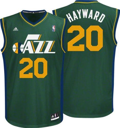 timeless design 10cf1 981fd Buy NBA Utah Jazz Gordon Hayward #20 Men's Replica Jersey ...