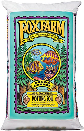 Fox Farm FX14079 Ocean Forest Bag, 1.5 cu. ft. Potting Soil, Brown