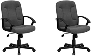 Flash Furniture Mid-Back Task Office and Computer Chair (Pack of 2)