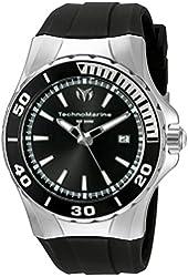 Technomarine Men's TM-215054 Sea Manta Analog Display Swiss Quartz Black Watch