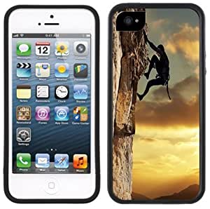 Rock Climbing Handmade iPhone 5 5S Black Case