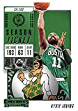 2018-19 Panini Contenders Season Ticket #32 Kyrie Irving Boston Celtics Basketball Card