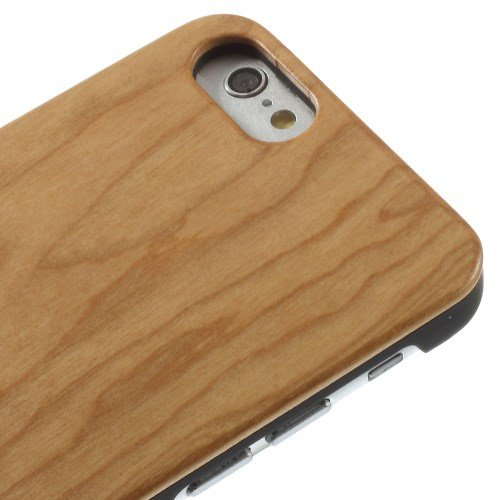 "Apple iPhone 6 4.7"" Hard Case Protective Wooden Echt Holz Cover Hülle Ahorn"