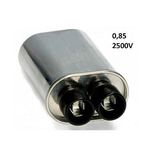 Condensador de horno microondas 0,85 2500 V Whirlpool Moulinex ...