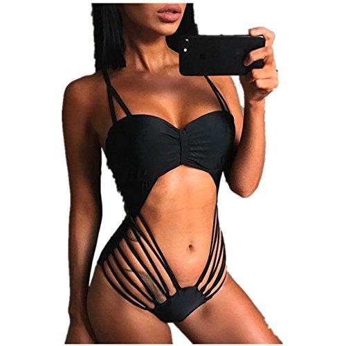 Saitai Bikinis Bandage One piece Swimsuit