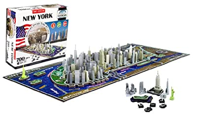 4d York City Skyline Time Puzzle from Cityscape