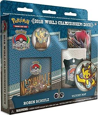 Pokemon TCG: 2018 World Championship Deck Set of All 4 Champion Decks - Robin Schulz, Pedro Torres, Magnus Pedersen, and Naohito Inoue