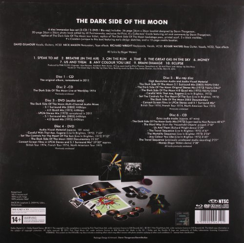 The Dark Side Of The Moon Immersion Box Set Buy Online