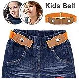 Kids Girl's PU Faux Leather Waistband 4...