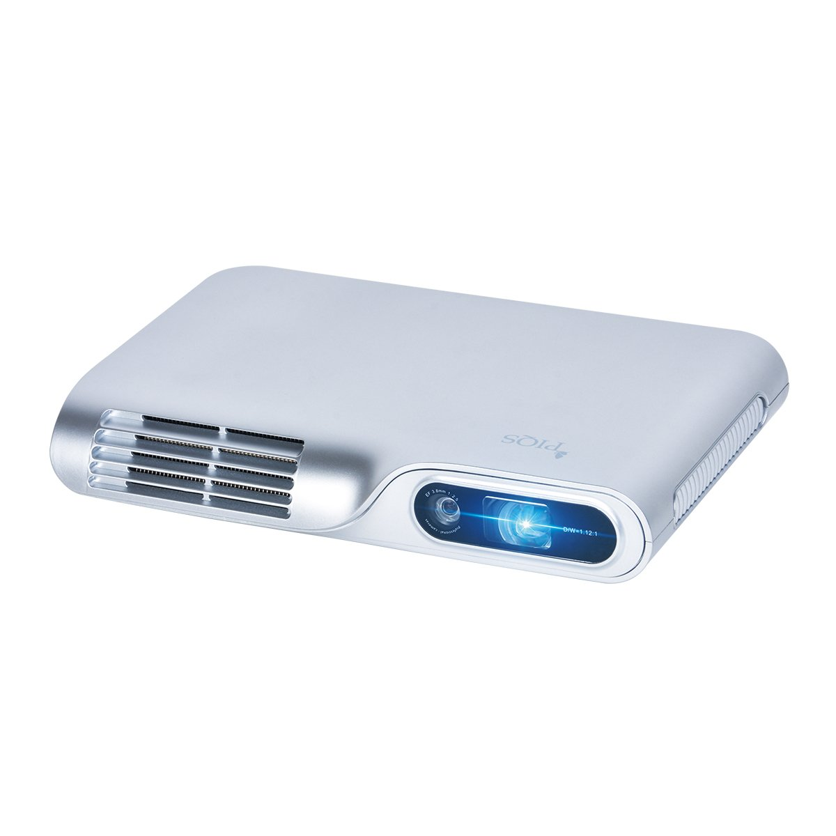 PIQS TT Virtual Touch Portable Projector, DLP Home Theater Mini Projector Support 1080P, WiFi, Bluetooth,with Autofocus/Keystone, 3-hour battery, for Business PPT, Home Cinema & Backyard Projection